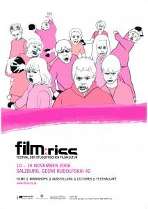 film:riss 08 Plakat (Graphik/Layout: Judith Holzer)