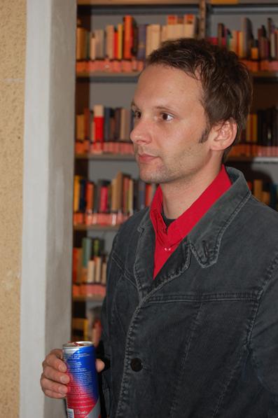 Stefan Deller vom film:riss-Team