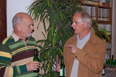 Die Filmbeauftragten der Stadt Salzburg, Werner Riemer (li.), und des Landes Salzburg, Olaf Weinhold