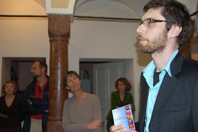 Festivalleiter Dominik Tschütscher