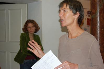 Hildegard Fraueneder, Leiterin der galerie5020