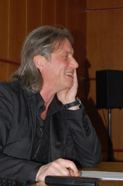 Harald Sicheritz bei seiner Lecture
