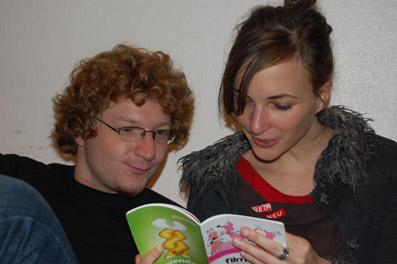 Daniel Ebner und Johanna Moder