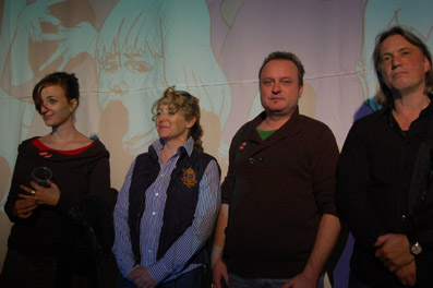 Die Fiktions-Jury (v.l.): Johanna Moder, Gabriele Neudecker, Johannes Rosenberger und Harald Sicheritz