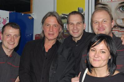 Harald Sicheritz mit dem film:riss-Team