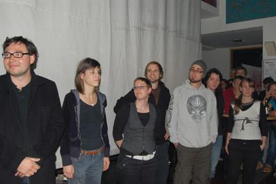 Die FilmemacherInnen des Kunstfilm Panorama (Block 1)