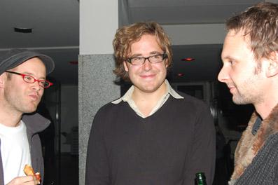 v.l.: David Gross, Bernhard Braunstein, Stefan Deller