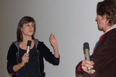 """Orsolya Bajusz (""""Flowers, Walk"""") im Gespräch mit Robert Buchschwenter"""