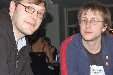 Joachim Dworschak und Erwin Feyersinger